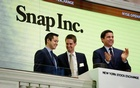 Snap's shares pop after year's biggest IPO