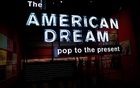 The entrance of the exhibition 'The American Dream: pop to the present' is seen at the British Museum in London, Britain, March 6, 2017. Reuters