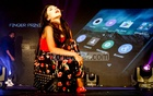 Edison Group's new smartphone helioS25 is unveiled with a fashion show at a hotel in Dhaka on Tuesday. Photo: tanvir ahammed