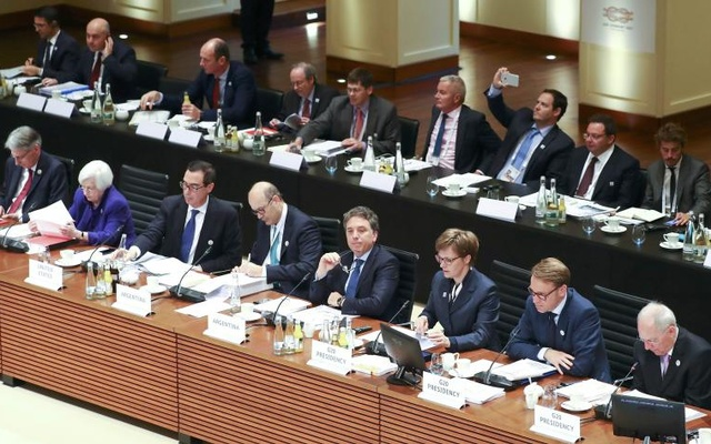 A general view shows the G20 Finance Ministers and Central Bank Governors Meeting in Baden-Baden, Germany, Mar 17, 2017. ReutersG20 to fight bank hacks