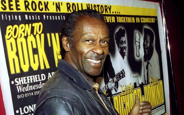 Although Elvis Presley was called the king of rock 'n' roll, that crown would have fit just as well on Chuck Berry's own carefully sculpted pompadour. Reuters file photo
