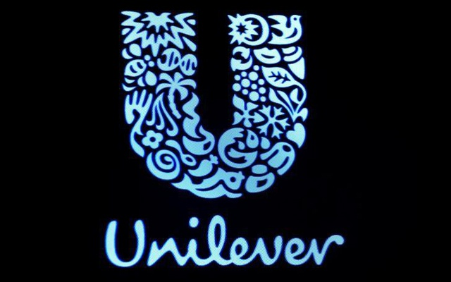 The company logo for Unilever is displayed on a screen on the floor of the New York Stock Exchange (NYSE) in New York, US, Feb 17, 2017. Reuters