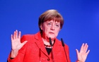 German Chancellor Angela Merkel gives a speech at the demographic summit in Berlin, Germany, Mar 16, 2017. Reuters