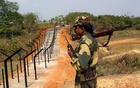 File Photo: A BSF Jawan at the India-Bangladesh border. Reuters