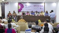 'Flower Fest 2017' is set to begin at the Bangla Academy premises from Thursday. A press conference was held at the National Press Club auditorium about the three-day programme on Tuesday. Photo: asaduzzaman pramanik
