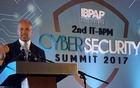 Lamont Siller, the legal attache at the U.S. embassy in the Philippines speaks during a cyber security forum in Manila, Philippines March 29, 2017. Reuters