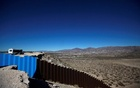 A general view shows a newly built section of the US-Mexico border fence at Sunland Park, US opposite the Mexican border city of Ciudad Juarez, Mexico Jan 26, 2017. Reuters