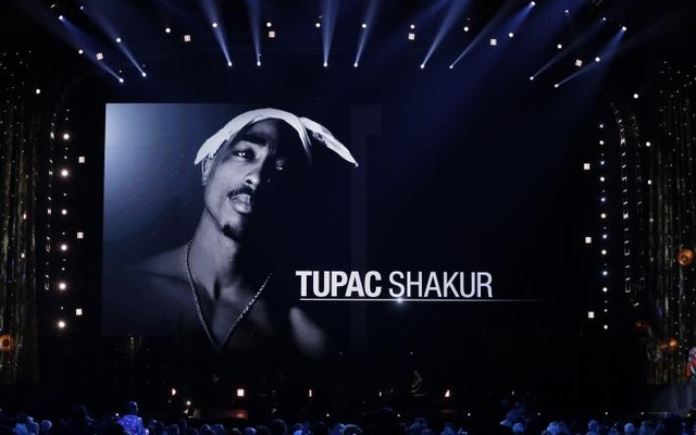 32nd Annual Rock & Roll Hall of Fame Induction Ceremony - Show – New York City, US, 07/04/2017 – Tupac Shakur. Reuters