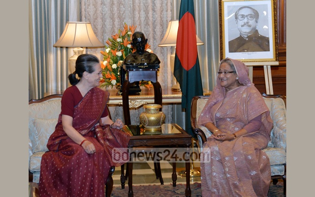 Bangladesh PM pitches for more trade channels with India