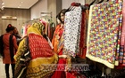 Shoppers in Dhaka flock to the fashion houses selling local products ahead of the Pahela Baishakh.