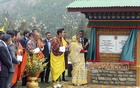 ​Prime Minister Sheikh Hasina laid the foundation stone of the Bangladesh High Commission building in Bhutanese capital Thimphu on Wednesday. Bhutanese King Jigme Khesar Namgyel Wangchuck​ and Prime Minister Tshering Tobgay​​​ were present at the ceremony. ​