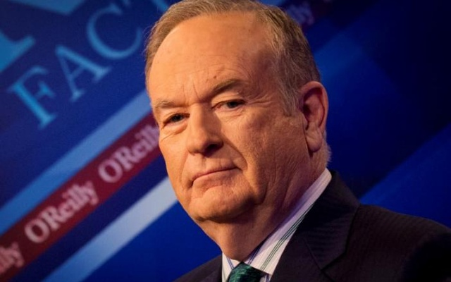 Fox News Channel host Bill O'Reilly on the set of his show 'The O'Reilly Factor'. Reuters