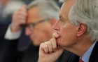 EU Brexit negotiator Michel Barnier attends a debate on Brexit priorities and the upcomming talks on the UK's withdrawal from the EU at the European Parliament in Strasbourg, France, Apr 5, 2017. Reuters