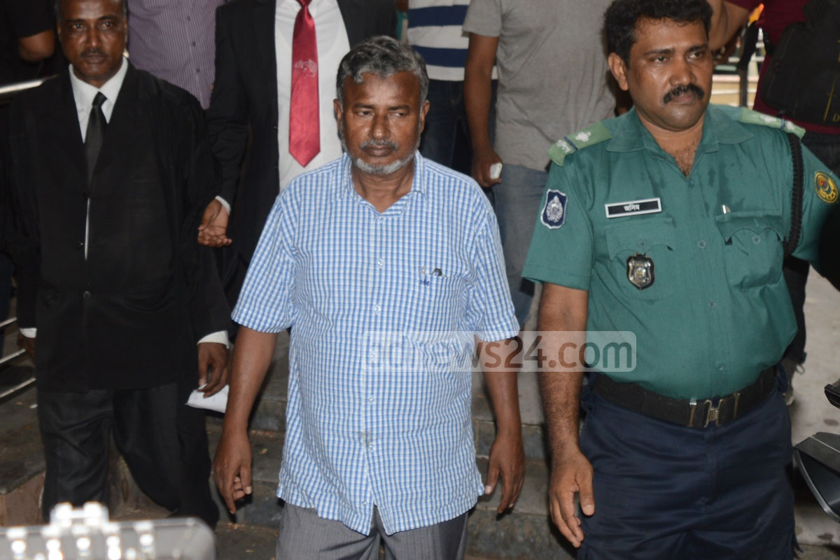 Purba Rail's former GM Yusuf Ali Mridha and two others land in jail for four years in two cases of corruption over recruitment. Photo: suman babu