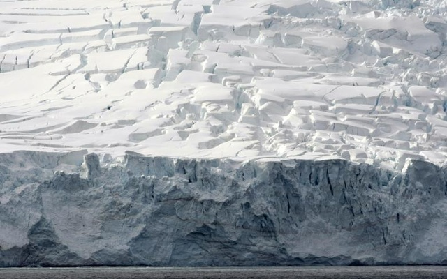 Glaciers of Livingston Island are pictured in the Antarctica continent. Reuters