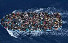 Representational Image: A boat carrying migrants in the Mediterranean, February 12, 2015. Reuters