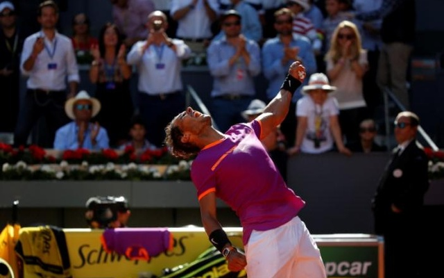 Rafael Nadal beats Dominic Thiem in Madrid Open final