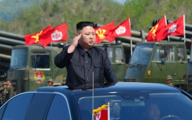 Japan says N. Korea missile fell into sea
