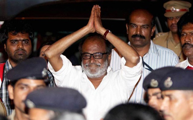 Rajinikanth fans celebrate his decision to enter politics