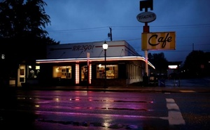 Twede's Cafe, the location of the Double R Diner in the 'Twin Peaks' television series, is seen in North Bend, Washington, U.S. May 15, 2017. Picture taken May 15, 2017. Reuters