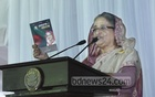 Prime Minister and Awami League President Sheikh Hasina speaks at a party meeting at the Ganabhaban on Saturday.