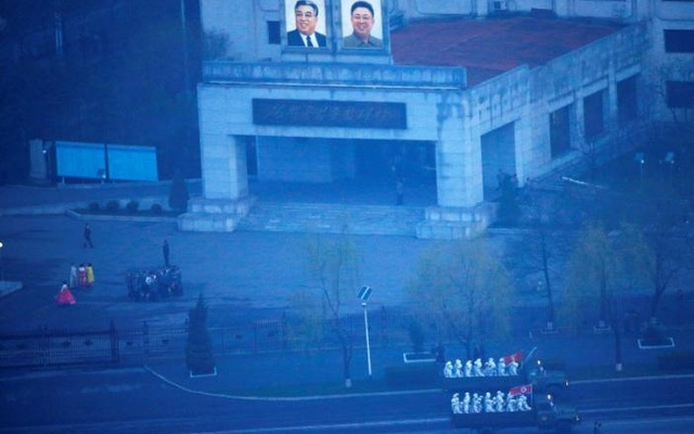 North Korea fires 'unidentified projectile', South Korea's military says