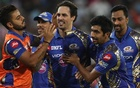 Mumbai pip Pune in thriller to win their third IPL title