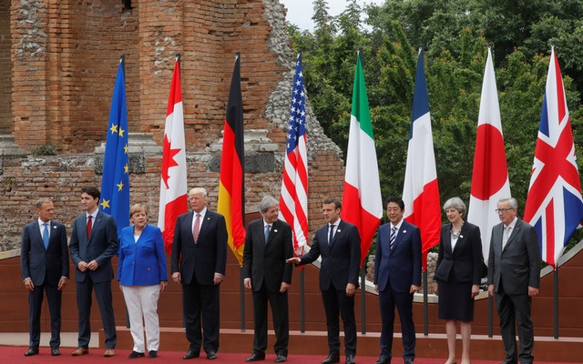 Backs call for fight against protectionism in G7 communique