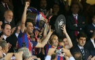 Messi leads Barca to third King's Cup win in a row