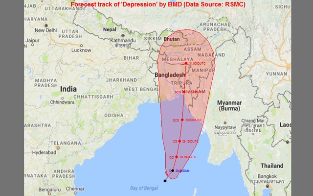 Bengal braces for heavy rains with low pressure formation is sea