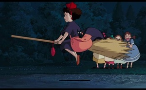 A still from 'Kiki's Delivery Service'. Credit: Walt Disney Company