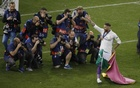 Ramos shows ugly side before glorious celebration