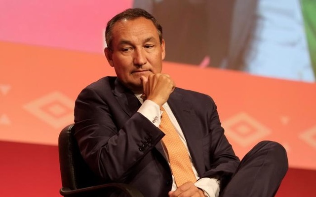 Oscar Munoz, chief executive of United Airlines, attends a meeting of the International Air Transport Association (IATA) in Cancun, Mexico Jun 5, 2017. Reuters