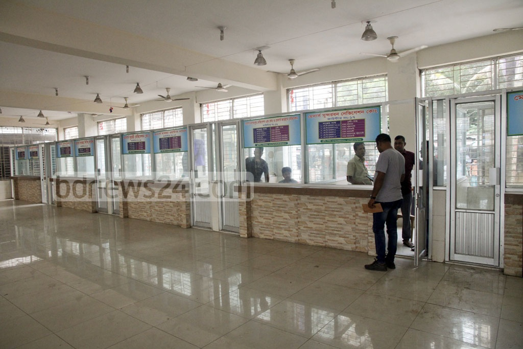 Though early tickets for launch vessels for Eid were to go on sale on Thursday, most counters at Dhaka's Sadarghat terminal were closed. Most had been booked over the phone, according to terminal workers.