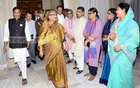 PM Hasina back in the country after official visit to Sweden