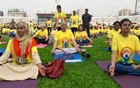 Thousands join Yoga Day celebration in Dhaka