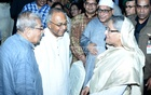 PM Hasina hosts Iftar party for poets, artists at Ganabhaban