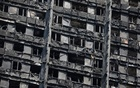 The burnt out remains of the Grenfell Tower are seen in North Kensington, London, Britain Jun 20, 2017. Reuters