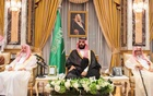 FILE PHOTO: Saudi Arabia's Crown Prince Mohammed bin Salman sits during an allegiance pledging ceremony in Mecca, Saudi Arabia June 21, 2017. Reuters