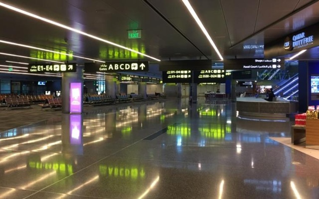 View of departures area at Hamad International airport in Doha, Qatar, June 20, 2017. Reuters