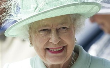 Britain's Queen Elizabeth visits Burnley College and University of Central Lancashire in northern England May 16, 2012. Reuters