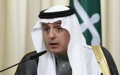 Saudi Foreign Minister Adel al-Jubeir attends a news conference after a meeting with his Russian counterpart Sergei Lavrov in Moscow, Russia, Apr 26, 2017. Reuters