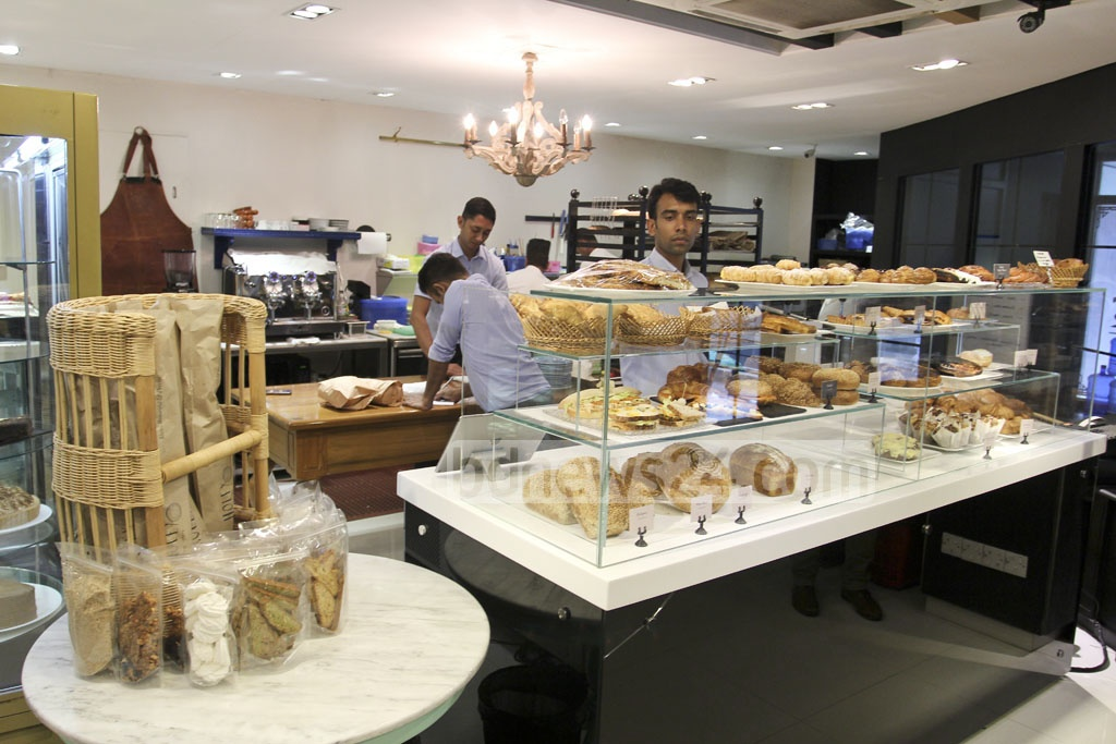 A glimpse of the new Holey Artisan Cafe, reopened on the first floor of Rangs Arcade building in Gulshan Avenue. It was inaugurated there in January, around six months into the fatal terror attack. Photo: asif mahmud ove