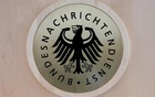 The sign of the German Federal Intelligence Agency (BND) is pictured in their headquarters in Berlin, Germany Oct 6, 2016. Reuters