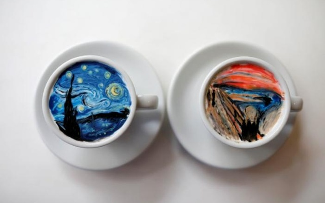Korean barista creates coffee art that is 'too lovely to sip'