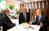 Trump, Putin shake hands at G20 summit