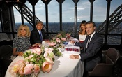 'You're in such good shape': Trump to Brigitte Macron
