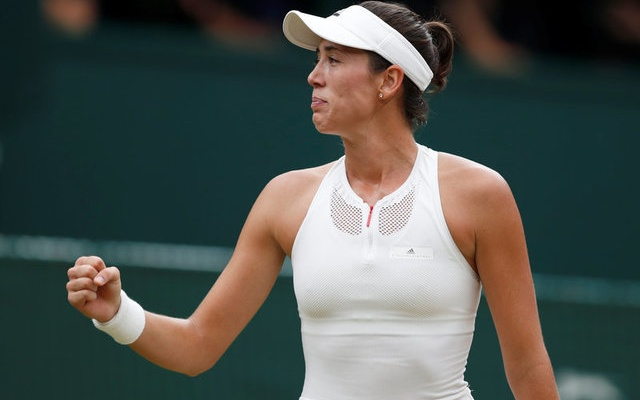 Wimbledon champion Garbiñe Muguruza: 'I was nervous … but kept