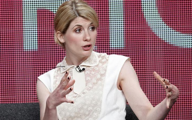 Actress Jodie Whittaker star of the series