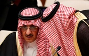 Muhammad bin Nayef, former crown prince of Saudi Arabia, confers with a member of his delegation during a high-level meeting on addressing large movements of refugees and migrants at the United Nations General Assembly in New York on Sept 19, 2016. Reuters/File